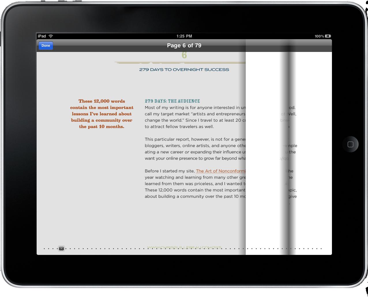 Folio Case Page