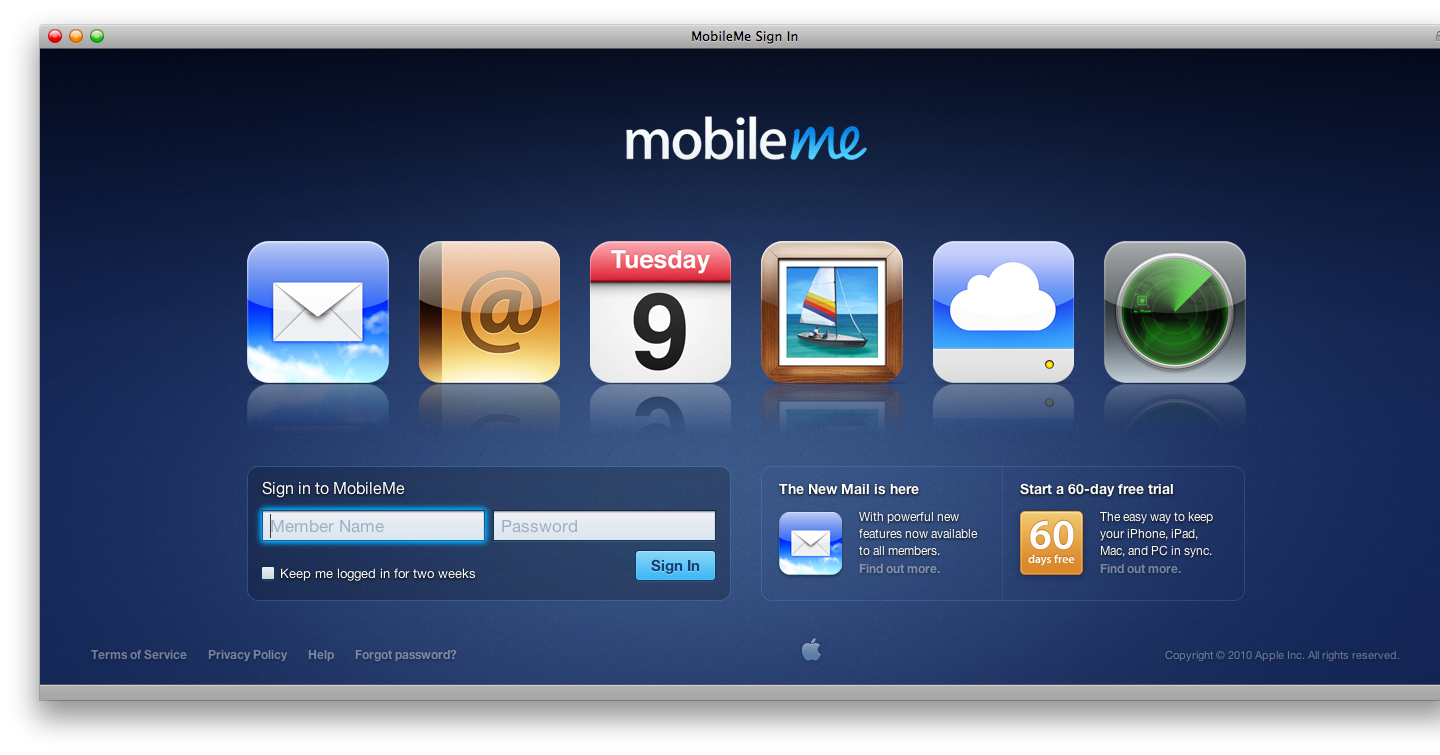 Apple Launches the New MobileMe – MacStories