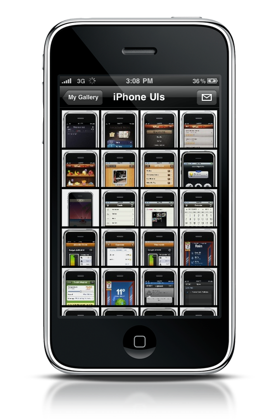 Mobileme gallery app for iphone see you next time apple for Application miroir iphone