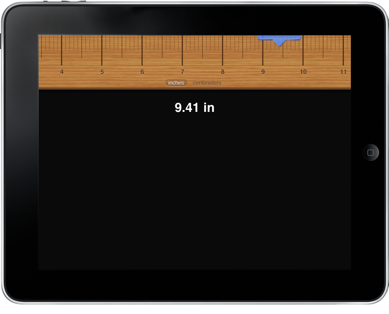 Ruler for iPad Measures Anything You Want. Anything. – MacStories