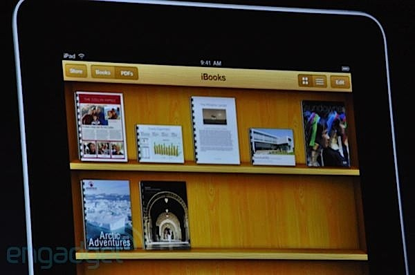 iBook PDF Shelf